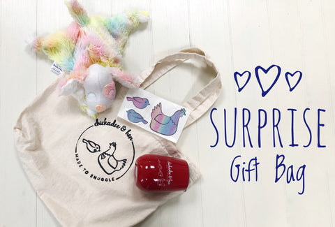 Bonus Entry for Surprise Gift Bag Draw chickadee & hen