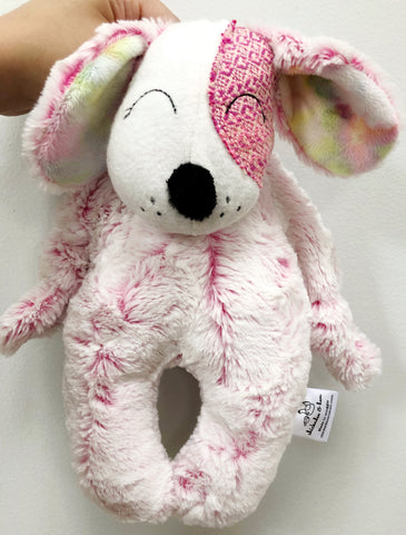 Pink Wonderland Puppy Snuggle Plush