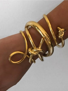 Infinity Twisted Cuff