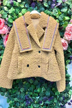 Load image into Gallery viewer, Beige Teddy Coat