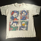 Vintage Mickey and Co Plaid Tee Sz XL