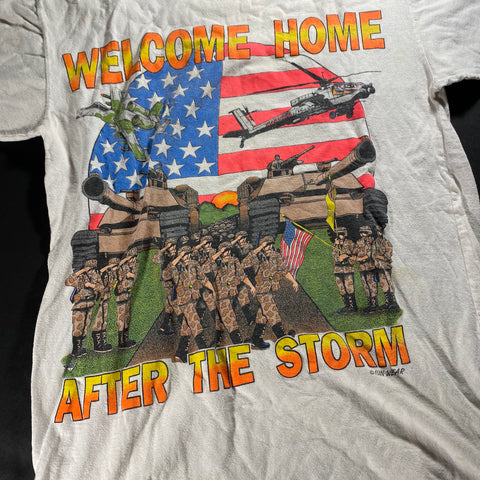 Vintage Welcome Home After the Storm Tee fits Small