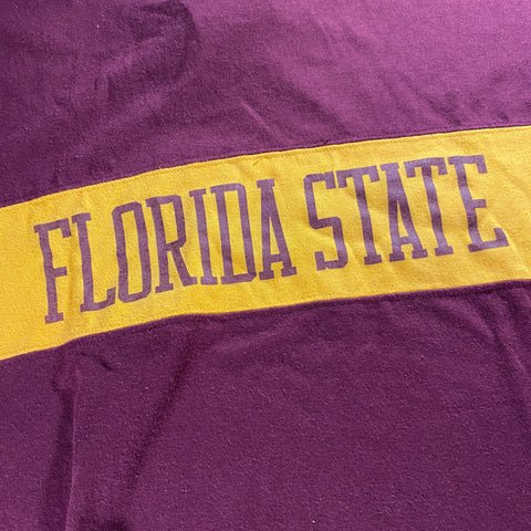 Vintage Florida State Spellout Tee fits Medium