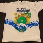 Vintage 1990 Beach Boys Baseball Beach Party Tshirt