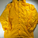 Vintage Polo Sport Yellow Parka Raincoat Sz Medium