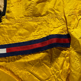 Vintage Tommy Hilfiger Quarter Zip Up Rain Jacket Sz Large
