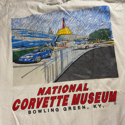 Vintage National Corvette Museum Tee Sz L/XL