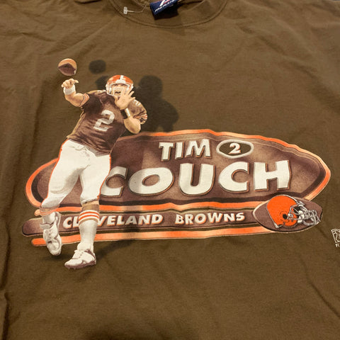 Vintage Tim Couch Cleveland Browns Player Tshirt Sz XL