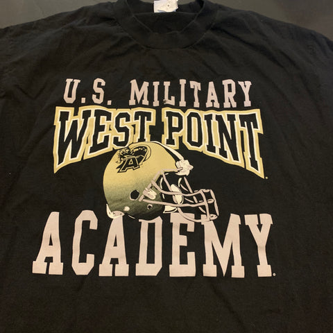 Vintage West Point US Military Graphic Tshirt Sz L