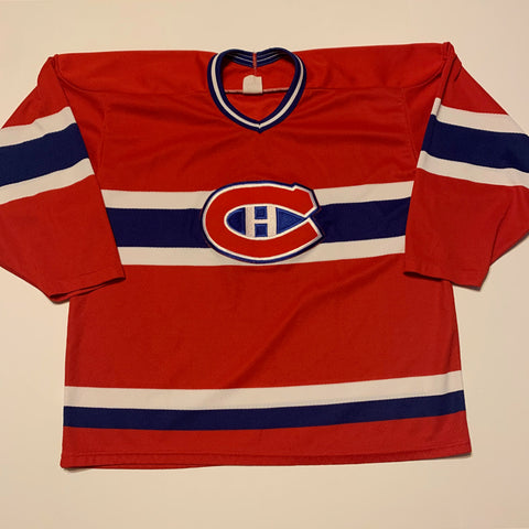 VTG Montreal Canadiens Jersey Sz Large