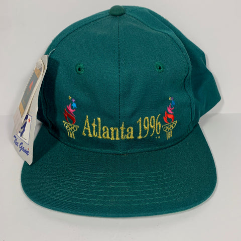 Vintage Double Flame 96' Olympics Snapback