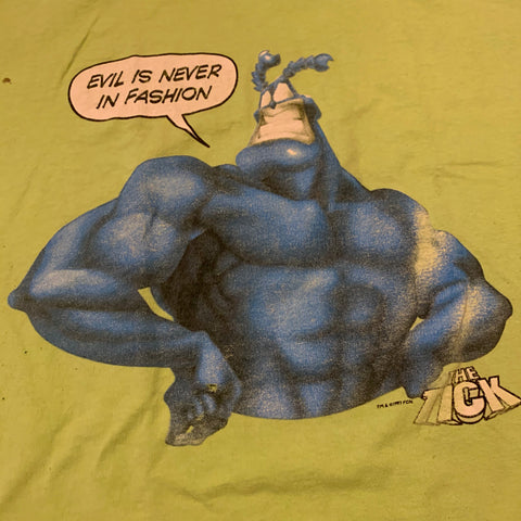 Vintage The Tick Graphic T-shirt Sz XL