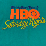 Vintage HBO Saturday Night T-shirt Sz XL