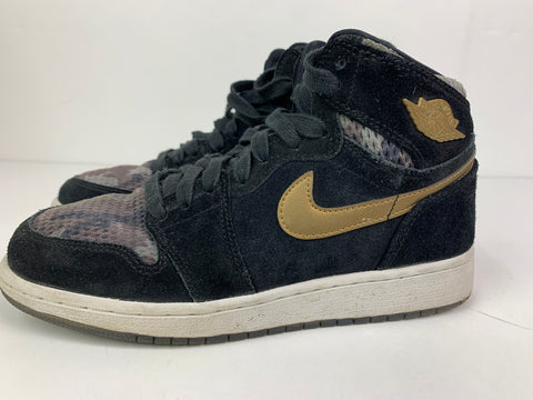 Used Air Jordan 1 Retro High GG Heiress 'Camo' Sz 5.5y