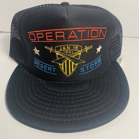 Vintage Operation Desert Storm Trucker Hat