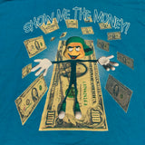 Vtg Show me The Money Tee Sz XL