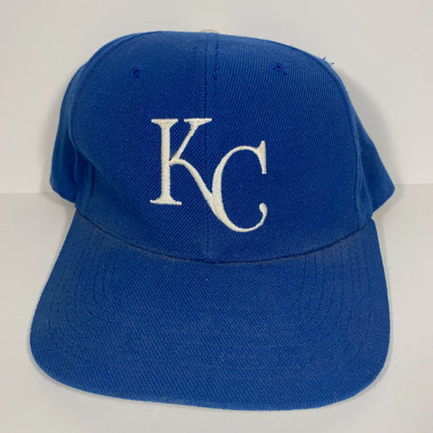 Vintage Kansas City Royals Plain Logo Snspback