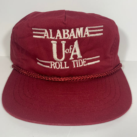Vintage Alabama Roll Tide Rope Snapback