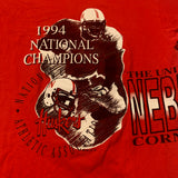 1994 Nebraska National Champs T-shirt Sz XXL