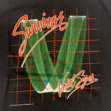 1984 Survivor Vital Signs Original Tour Tshirt Sz Med