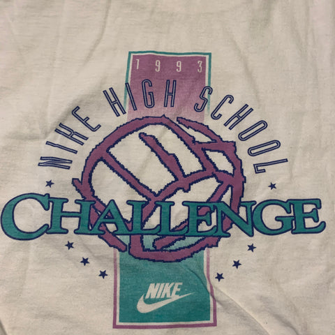 1993 Nike High School Volleyball Challenge T-shirt Sz Large