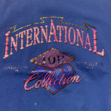 1993 International Collection IOU Graphic Sweater Sz XL