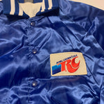 Vintage 80s RC Cola Satin Jacket Sz Large