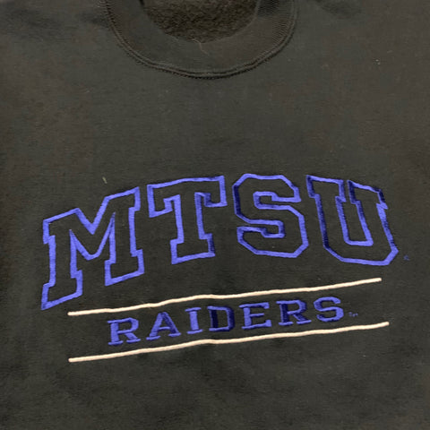 MTSU Embroidered Sweater Sz SM