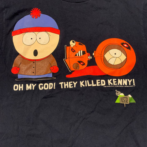 Vintage South Park Kenny Died Tshirt Sz Large