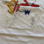 Vintage Ren & Stimpy Cartoon Tshirt Sz L