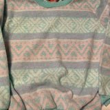 Vintage Vintage Women Cotton Candy Sweater Sz Small