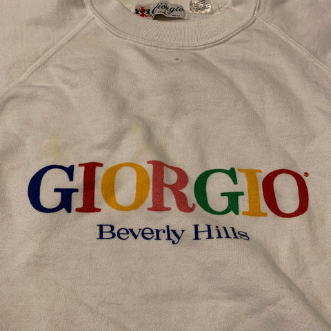 VTG Giorgio Beverly Hills Sweater Sz Med\small