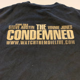Stone Cold The Condemned movie Tshirt Sz L
