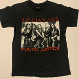 1992 Lillian Axe Poetic Justice Band Tshirt Sz L