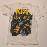 1987 Kiss Graphic Band Tshirt Sz Small