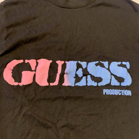 Vintage Guess Products Graphic Tshirt Sz Med