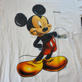 Vintage Mickey Florida Tee Sz Medium