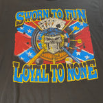 Vintage 'Sworn to Fun Loyal to None' Tee Sz Large