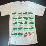 Vintage 18 Holes Golf Tee Sz Medium
