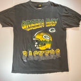 Vintage Green Bay Packers Helmet Tee Sz XL