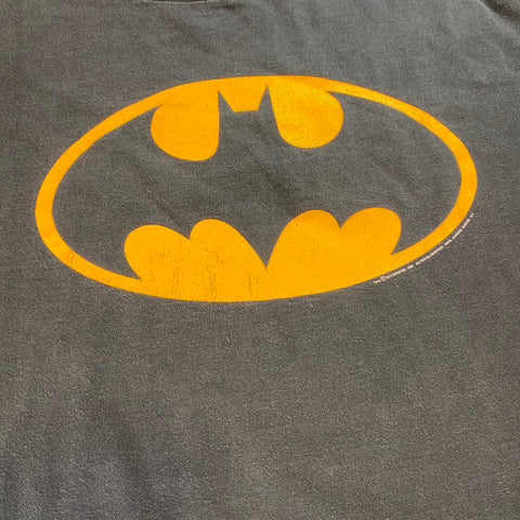 Vintage Batman Logo Tee Sz XL (fits Large)