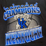 Vintage '96 Kentucky Basketball Champions Tee Sz Large