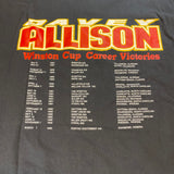 Vintage Davey Allison Memorial Tee Sz XL