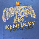 Vintage '96 Kentucky National Champion Tee Sz XL