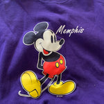 Vintage Memphis Mickey Mouse Graphic sweater Sz XL