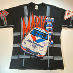 Vintage Mark Martin All-Over Print Tee Sz Large