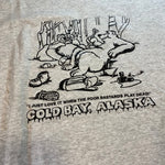 Vintage Cold Bay, Alaska Tee Sz Medium