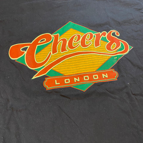 Vintage Cheers London Movie Tee Sz