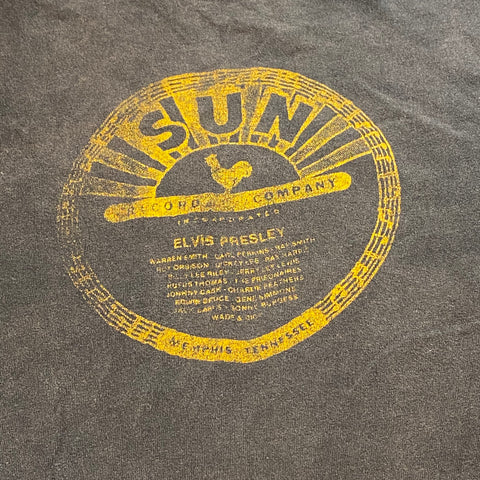 Vintage Sun Records Elvis Presley tee Sz YOUTH XL