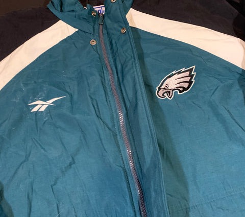 Vintage Philadelphia Eagles Coat Sz XXL
